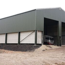 steel frame buildings vehicle storage