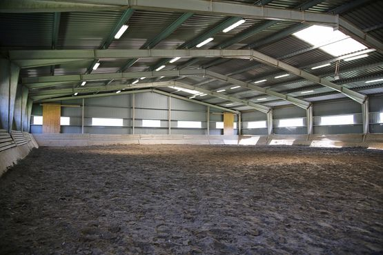 indoor steel frame arena