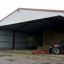 steel frame buildings for Agricultural use